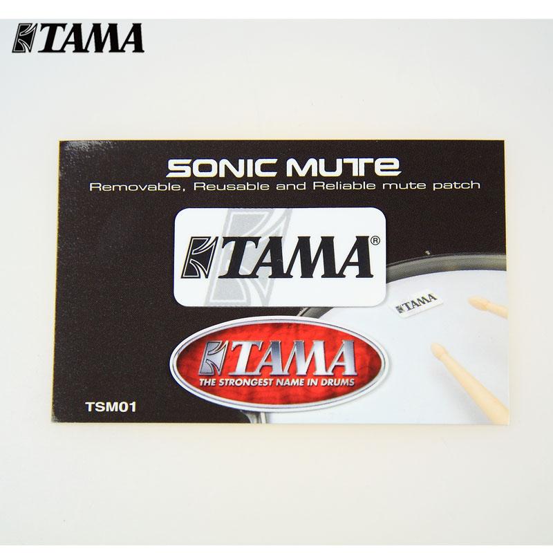 Пластика для барабана Tama tsm01 sonicmute барабан/Барабан Барабан обертонов стикер 2-Pack