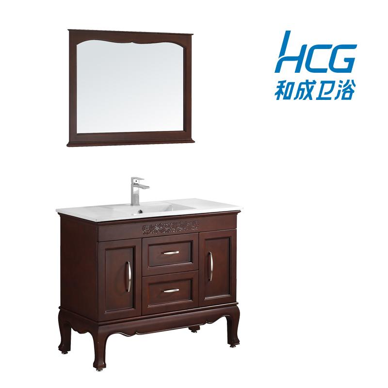 和成实木浴室镜柜组合LC5868T