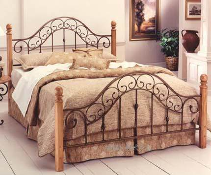 Buy San Marco Hotel Beds Rust Metal And Iron Bed Wood Bed