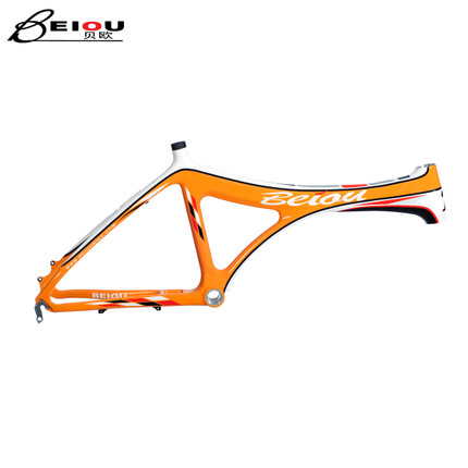 Buy BEIOU Beiou carbon fiber frame BMX bike parts recreational ...