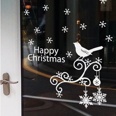 get quotations christmas decoration wall sticker window stickers stickers stickers glass window text chimes christmas christmas - Christmas Window Stickers