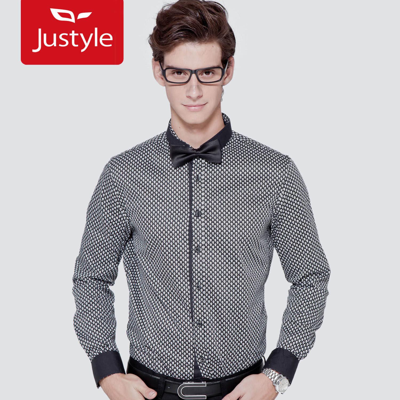 Рубашка мужская JUSTYLE 11113098
