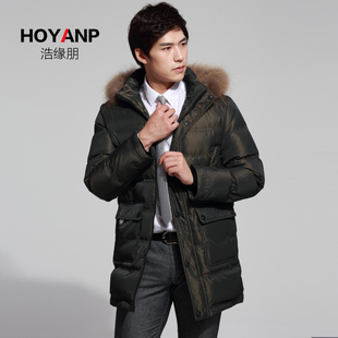 Hao Peng edge 2014 new men thick down jacket and long sections genuine men's winter jackets Discounted yrf Lynx