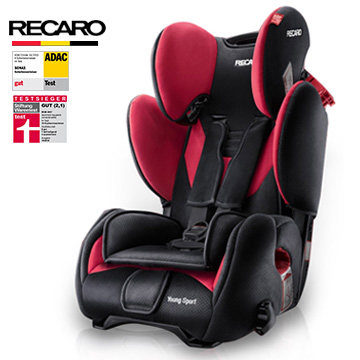 German child safety seats recaro isofix car seat Hornet interface Spot 2014