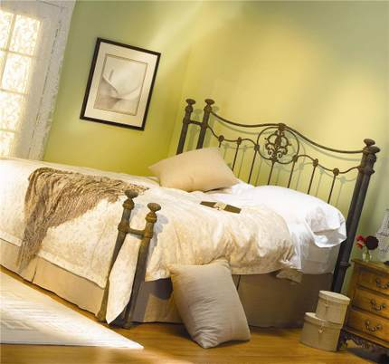 HR- French industrial -style wrought-iron beds , iron beds retro- eight feet , 1.8 m double iron bed 6-R7 free shipping