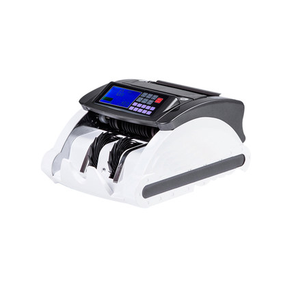 Multinational currency counter euro dollar currency Banknote Counter Counterfeit Detector Purple