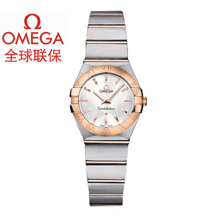 Swiss Omega Omega Constellation ladies watch quartz watch 123.20.24.60.02.001 genuine