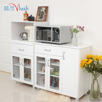 Wood Sideboard White Minimalist Modern Tea Cabinet Cupboard Kitchen  Cabinets Lockers Meal Microwave Cabinet Side Table