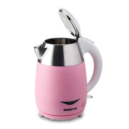 Povos / Pentium PK1816 304 food grade stainless steel electric kettle 1.7L