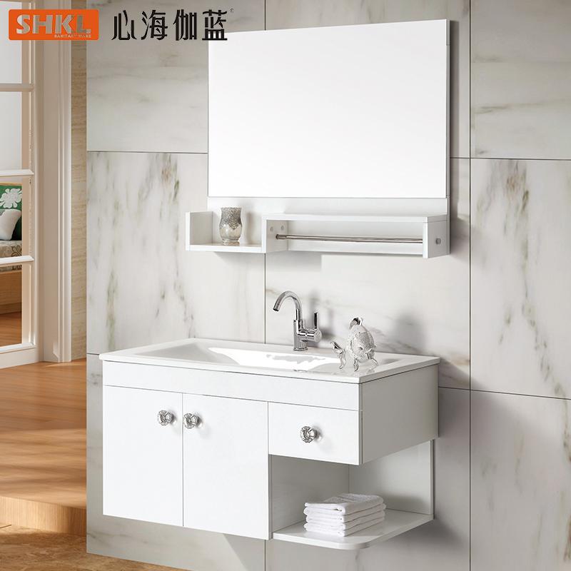 心海伽蓝实木浴室柜AC5026