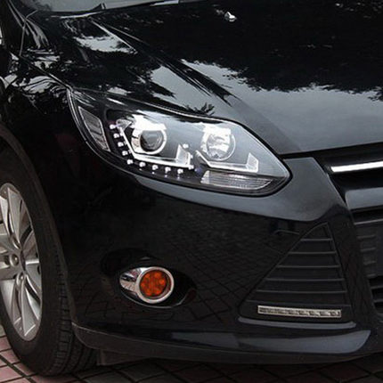 Get Quotations  C B European Version Of The Ford Focus   Dedicated Led Tears U Xenon Headlights