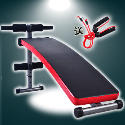 31c04e3c31c Get Quotations · Authentic AD abdomen machine crunches fitness equipment  home plate movement dumbbell bench abdominal crunches board