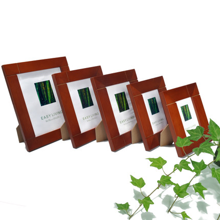 European high-grade wood frame 5 inch 6 inch 7 inch 8 inch 10 inch A4 wooden swing sets creative photo frame photo frame photo