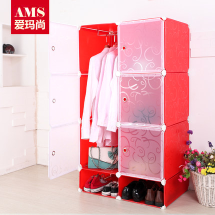 Buy Emma Still Baby Clothes Baby Wardrobe Storage Cabinets Wardrobe Simple  Plastic Toys For Children Locker Combination In Cheap Price On M.alibaba.com
