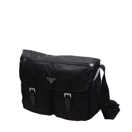 Buy Hong Kong authentic spot PRADA   Prada men  39 s black nylon shoulder  bag diagonal package postman BT1738 in Cheap Price on m.alibaba.com 7148d2c27e6c4