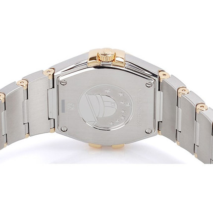 Swiss Omega Omega Constellation ladies watch quartz watch 123.20.27.60.58.001 genuine