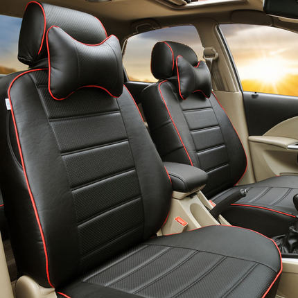 Buy Leather seat cover Peugeot car full surround ...