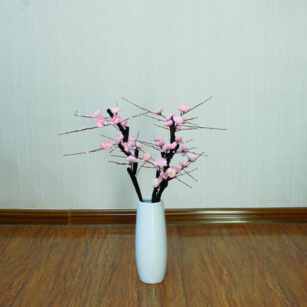 Cheap bloom artificial find bloom artificial deals on line at get quotations artificial flowers artificial flowers silk flower corsage feel high imitation of one branch of peach flowers mightylinksfo