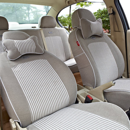Whiskers car seat all-inclusive linen polo Peugeot 301 Four Seasons General Excelle Lavida Octavia Hideo
