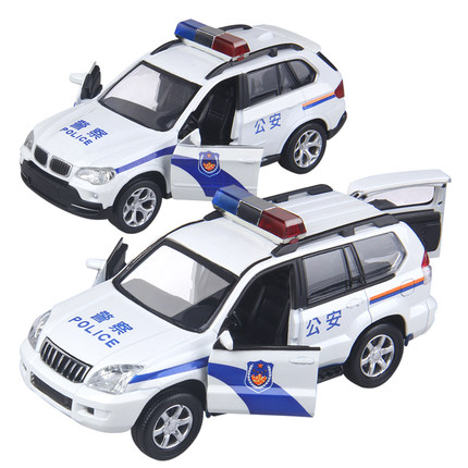 Buy Children Alloy Factory Simulation Model Toy Police Car