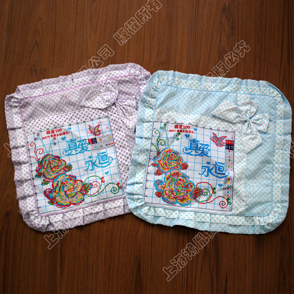 A KS latest precision printing stitch pillow cushion stitch a pair of eternal love a pair of pillow cases