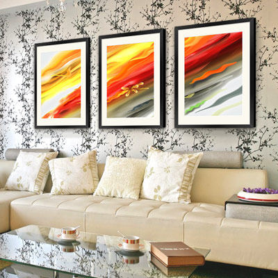 Decorative arts sector have murals decorative painting the living room sofa backdrop entrance Modern furniture Paintings 7568