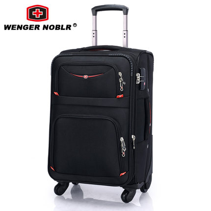3eeb7be4b22 Swiss Army Knife WENGER NOBLR Trolley Wheels male boarding suitcase luggage  suitcase business