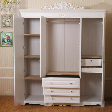 Nice Get Quotations · Four Large Wardrobe Closet Locker European Furniture Wood Wardrobe  Closet British Home Three Bags