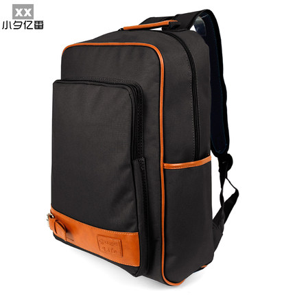 Fan eve of one hundred million small shipping Korean college sports men and women minimalist tide College Wind sports bag backpack schoolbag