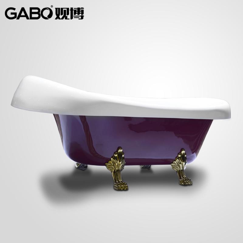 观博古典贵妃浴缸GBM6001