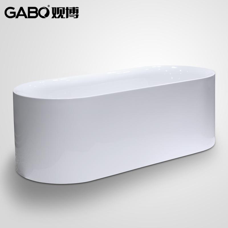 观博薄边压克力浴缸 GBA193