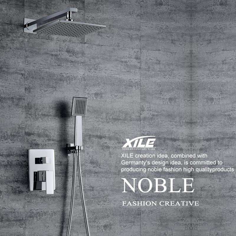 希勒暗装淋浴花洒套装XL-03013A-F