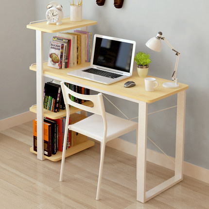 Get Quotations Chao Soil Minimalist Modern Simple Combination Bookcase Desk Ikea Home Desktop Computer