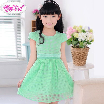 Buy Girls Dress Summer 2014 Big Boy Korean Childrens