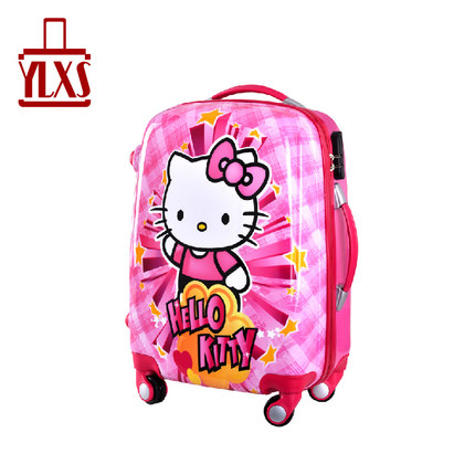 New Hello Kitty hello kitty letter luggage trolley suitcase caster board chassis female picture