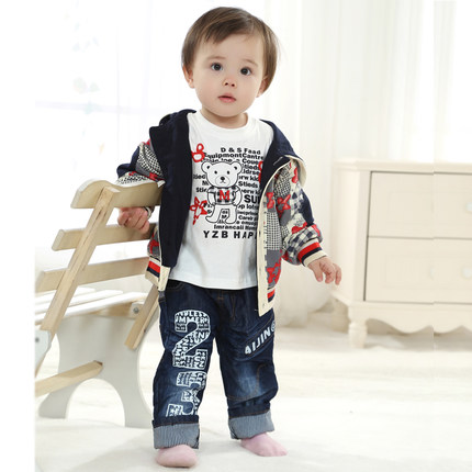c2ff38310 Buy New Spring and Autumn male baby boy clothes