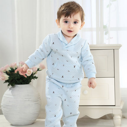 Spring and Autumn new baby suit baby clothes for men and women the age of 6 0dc7d8a3c