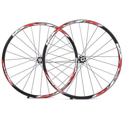 XXF small whirlwind DXT5 aluminum wheels mountain bike wheels 26 inch wheel set 24 -hole wheels riding